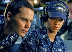 "Kitsch and Rihanna outthink alien baddies in ""Battleship"""