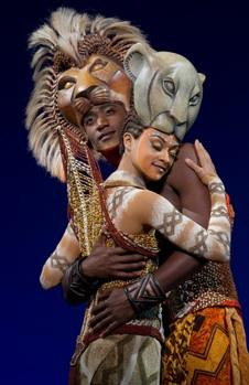 "Syndee Winters and Jelani Remy in ""The Lion King"""