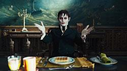 "Johnny Depp in ""Dark Shadows"""
