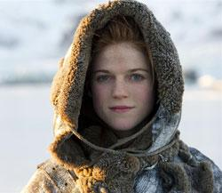 Ygritte makes her first appearance... now where have we seen her before, Mr. Carson, hmm?