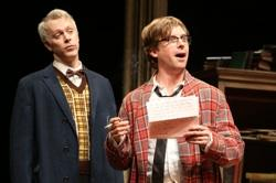 """Tim McGeever and Lucas Near-Verbrugghe in """"The Common Pursuit"""""""