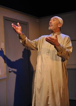 "Terry Lamb in ""Language Rooms"" at the Los Angeles Theatre Center"