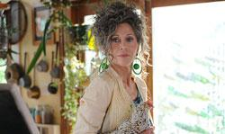 "Jane Fonda in Elizabeth Olsen in ""Peace Love And Misunderstanding"""