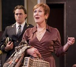 """Jules Findlay and Jan Neuberger in """"The Tale of the Allergists' Wife"""""""