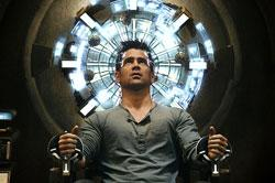 "Colin Farrell in ""Total Recall"""