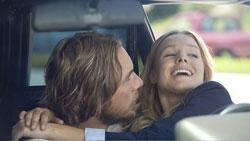 "Dax Shepard and Kristen Bell in ""Hit & Run"""