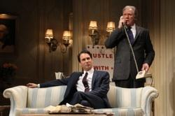 "John Stamos, Corey Brill and John Larroquette in ""The Best Man"""