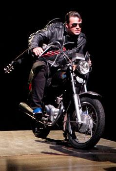 "Ryan Overberg in North Shore Music Theatre's production of ""All Shook Up,"""