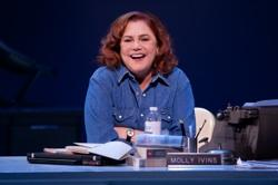Kathleen Turner in Arena Stage's production of 'Red Hot Patriot: The Kick-Ass Wit of Molly Ivins'