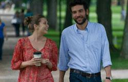 Meeting cute: Elizabeth Olson and Josh Radnor star in 'Liberal Arts'