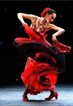 Flamenco dancers at the Joyce