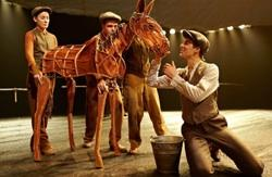 The cast of 'War Horse' at the Kimmel Center