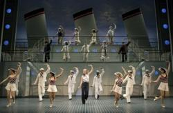The cast of the Roundabout Theatre's touring production of 'Anything Goes'