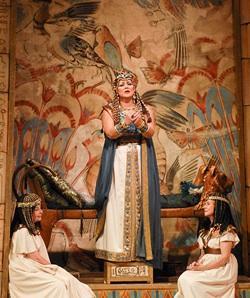 Liudmyla Monastyrska as the enslaved Ethiopian princess