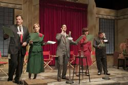 "The cast of ""It's A Wonderful Life, The Radio Play"""
