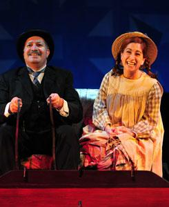 "Robert Saoud and Jennifer Beth Glick star in ""Anne of Green Gables"""