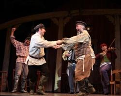 The cast of 'Fiddler'