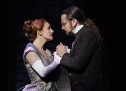 Teal Wicks as Emma Carew and Constantine Maroulis as Henry Jekyll