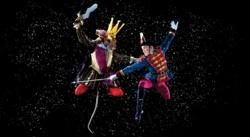 Alexander Peters and Alex Ratcliffe-Lee in George Balanchine's 'The Nutcracker'
