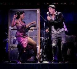 Felicia Boswell and Bryan Fenkart in 'Memphis'