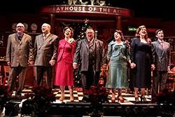 The cast of 'A Christmas Carol' at the Cygnet Theatre