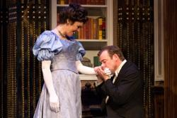 Jennie Eisenhower and Ian Merrill Peakes in An Ideal Husband