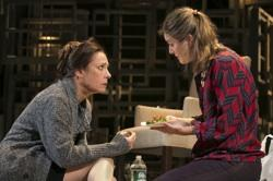Laurie Metcalf as Juliana Smithton, and Zoe Perry as The Woman