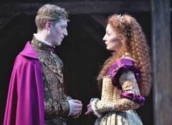 Zach Appelman portrays King Henry V in the new Robert Richmond production of 'Henry V'