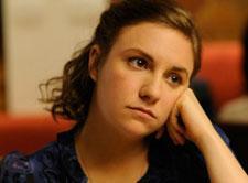 Lena Dunham in a scene from HBO's GIRLS