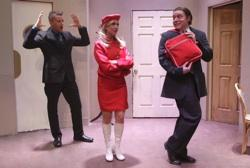 The cast of 'Boeing Boeing' at the Las Vegas Little Theater
