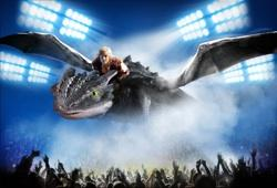 Flying Rarmian Newton and Toothless