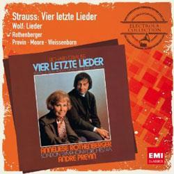 Electrola Collection: Vier Letzte Lieder Orchesterlieder