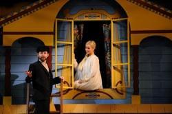 Matthew Rickard (Leon) and Alyssa Gorgone (Sophia)