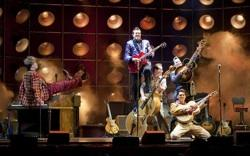 The cast of 'Million Dollar Quartet' at PPAC
