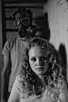 Caroline Neff (front) and Drew Johnson in '25 Saints'
