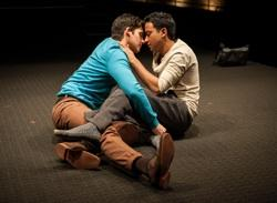 Liam Benzvi (Gabe) and Adam Poss (Drew) in Pulitzer Prize finalist Christopher Shinn's 'Teddy Ferrara'