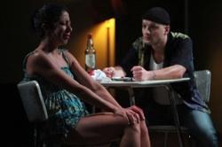 Sarah Nina Hayon and Sean San José in the NNPN rolling world premiere of Octavio Solis' 'Se Llama Cristina'