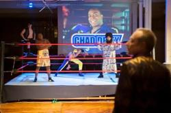 The cast of 'Chad Deity' at the Wilbury Group