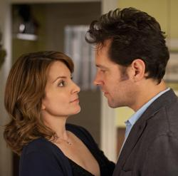 Tine Fey (left) and Paul Rudd (right) star in 'Admission""