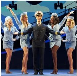 The cast of 'Catch Me If You Can'