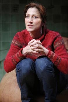 Edie Falco plays a teacher in Liz Flahive's 'The Madrid' at Manhattan Theatre Club