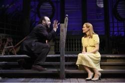 Danny Burstein and Sarah Paulson
