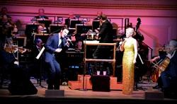 Megan Hilty and Ryan Silverman