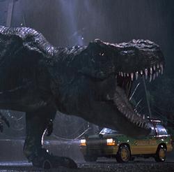 """Scene from """"Jurassic Park"""""""