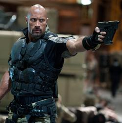 "Dwayne Johnson in ""G.I. Joe: Retaliation"""