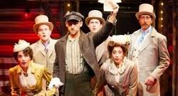 The cast of 'Assassins' at Cygnet Theatre