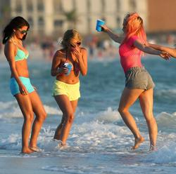 "Scene from ""Spring Breakers"""
