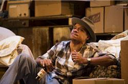 LeRoy McClain in the Huntington Theatre Company's production of Lorraine Hansberry's A RAISIN IN THE SUN. Mar. 8 - Apr. 7, 2013 at Avenue of the Arts / BU Theatre