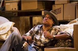 LeRoy McClain in the Huntington Theatre Company's production of Lorraine Hansberry's A RAISIN IN THE SUN. Mar. 8 - Apr. 7, 2013 at Avenue of the Arts / BU Theatre
