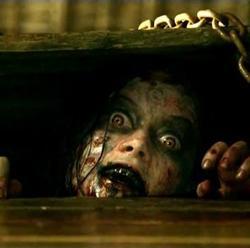 "Scene from ""Evil Dead"""